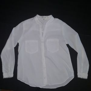 Cloth and Stone long sleeve white shirt
